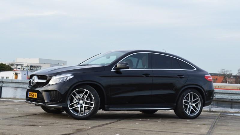 Foto S Mercedes Benz Gle Coup 233 350 D 4matic Rijtesten Nl
