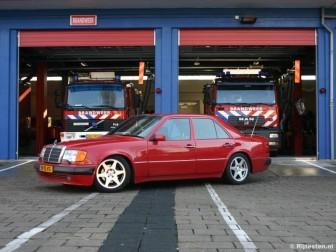 Mercedes-Benz 500E : Toen BMW in 1986 de M5, een sportsedan op basis van de