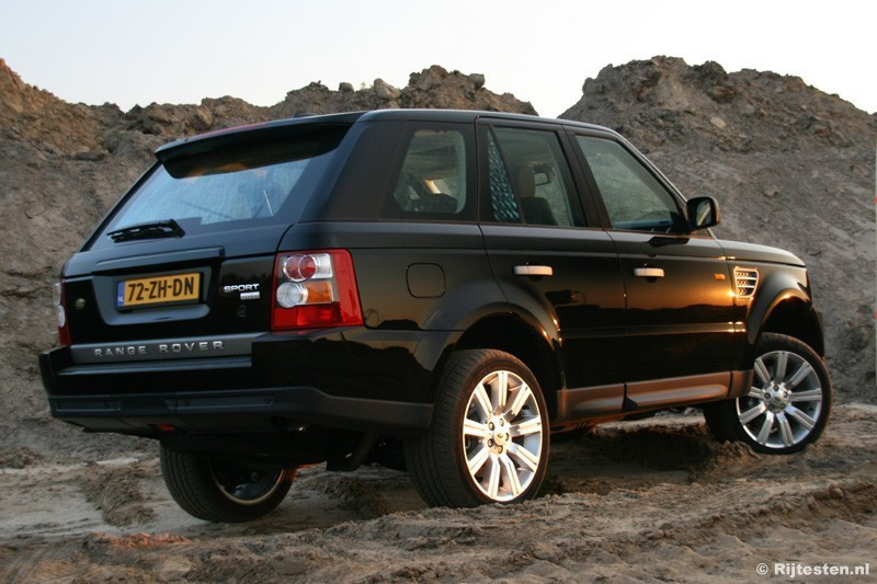 Foto S Land Rover Range Rover Sport Tdv8 Hse Rijtesten