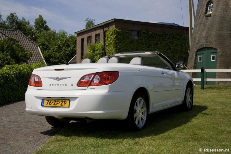 test chrysler sebring cabrio 2 7 v6 limited. Black Bedroom Furniture Sets. Home Design Ideas