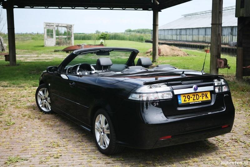 test saab 9 3 cabriolet 2 0 turbo aero. Black Bedroom Furniture Sets. Home Design Ideas