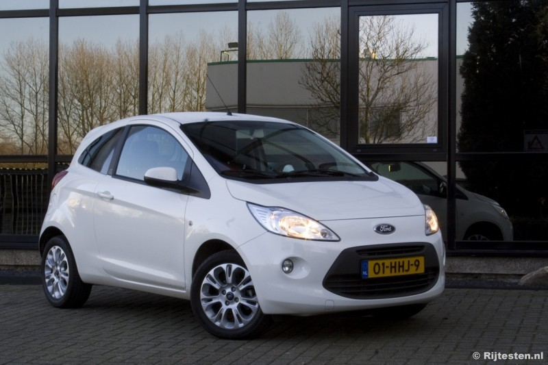 test ford ka 1 2 titanium pure rijervaring. Black Bedroom Furniture Sets. Home Design Ideas