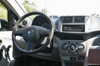 Nissan Pixo 1.0 Visia: Bij de Pixo zie je hetzelfde interieur terug als in