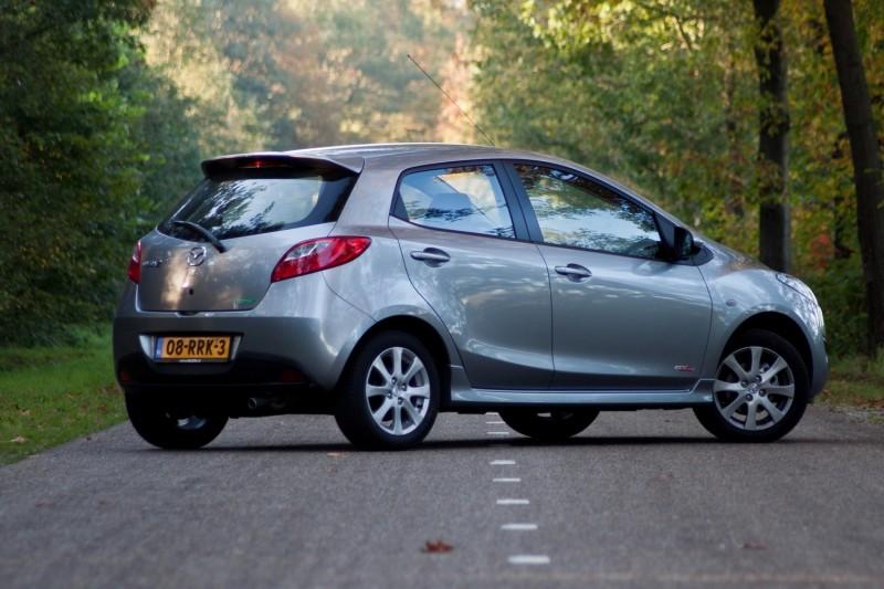 Test Mazda 2 1 3hp Bifuel Gt M Rijtesten Nl Pure