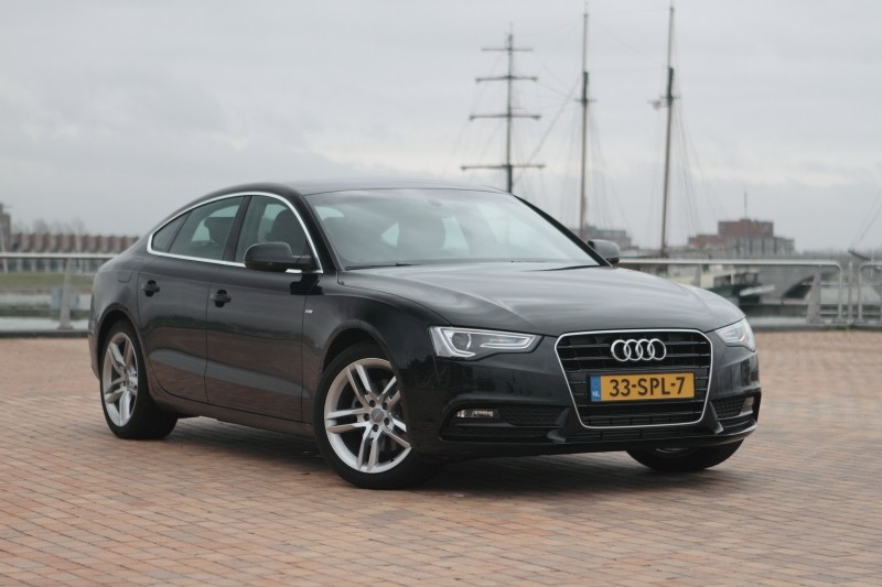 Test Audi A5 Sportback 1.8 TFSI Pro Line - Rijtesten.nl