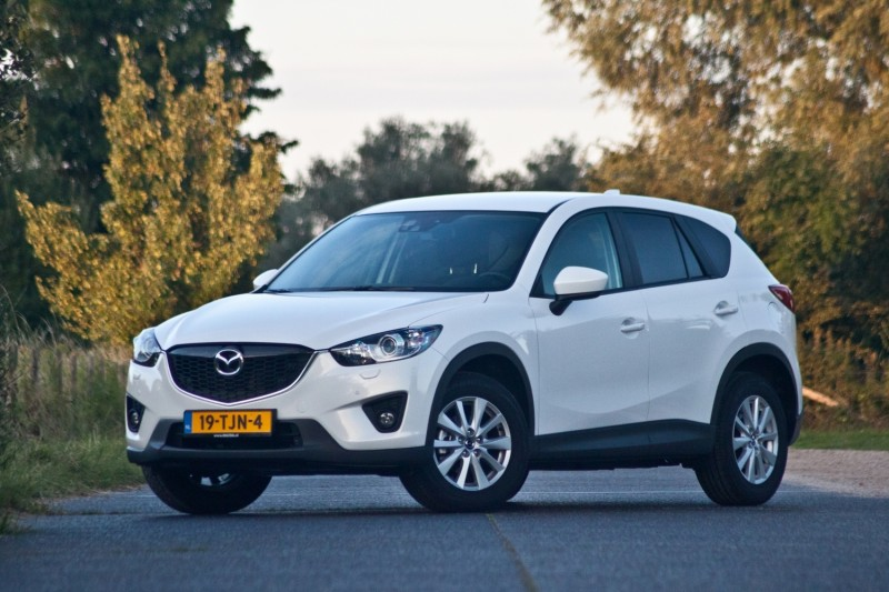 Test mazda cx 5 automaat