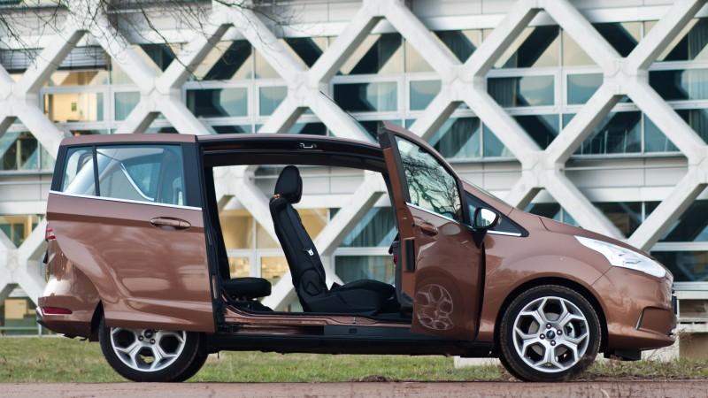 test ford b max 1 0 100pk titanium pure rijervaring. Black Bedroom Furniture Sets. Home Design Ideas