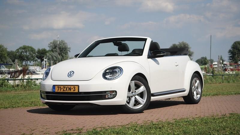 test volkswagen beetle cabrio 1 4 tsi dsg sport pure rijervaring. Black Bedroom Furniture Sets. Home Design Ideas