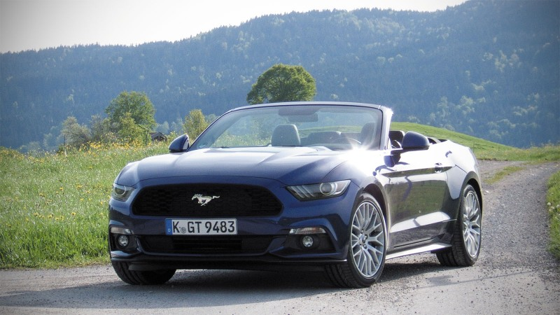test ford mustang 2 3 ecoboost convertible pure rijervaring. Black Bedroom Furniture Sets. Home Design Ideas