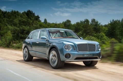 Nieuwe  Volvo on Nieuwe Beelden Van Bentley Suv   Bentley Exp 9 F   Rijtesten Nl
